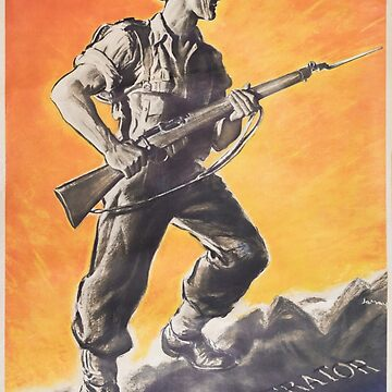 The Liberator, Reprint of British wartime poster. by JonDelorme