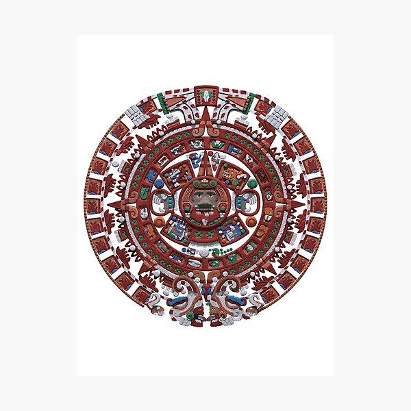 Mayan Calender Photographic Print