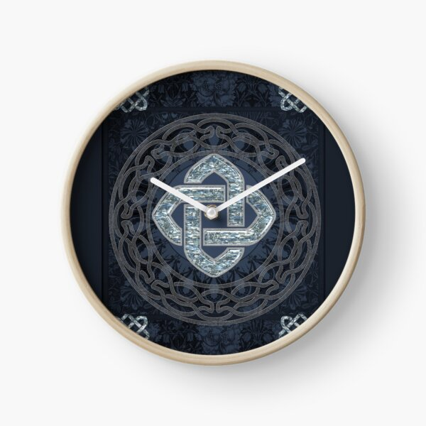 Wonderful celtic knot Clock