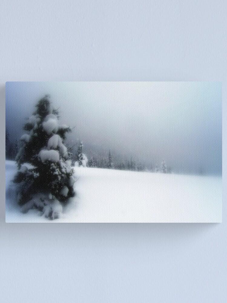 Alternate view of Winter Wonderland Canvas Print