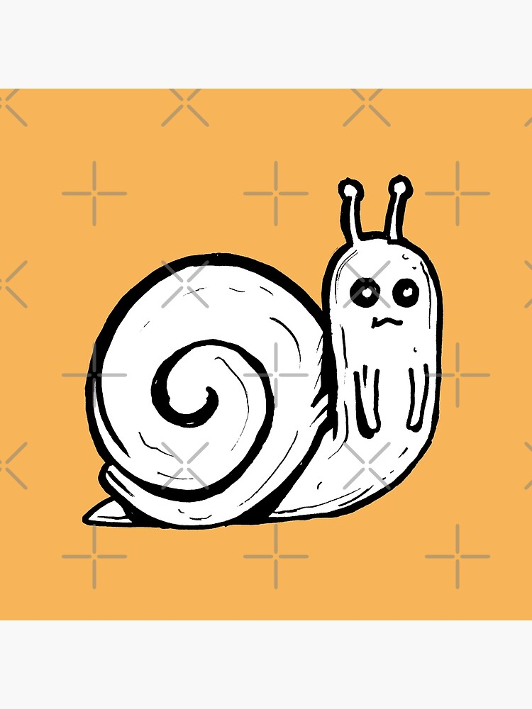 Cute Snail from Adventure Time™ by sketchNkustom