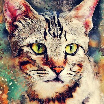 Cat Tiger #cat #cats #kitty by JBJart