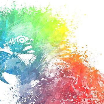Parrot Ara by JBJart