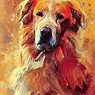 Golden Retriever dog #retriever #animals by JBJart