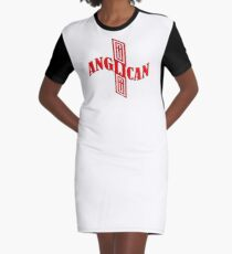 Anglican cross Graphic T-Shirt Dress