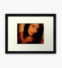 Amore, ci sei?  Framed Print