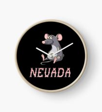 Nevada Sticker Clock