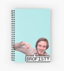 BROFIST! Spiral Notebook
