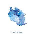 Tansania von MonnPrint
