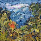 Landscape 2 Mountains by Notsniw Art