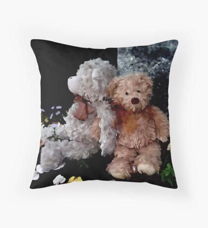 Teddy Bear Buddies Floor Pillow