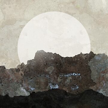 Abstract landscape Moon by mikeranger