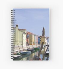 Colours of Burano Spiral Notebook