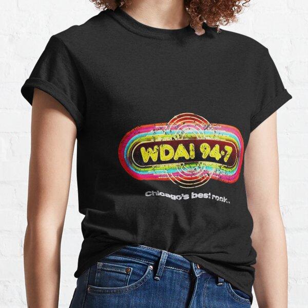 WDAI Chicago Camiseta clásica