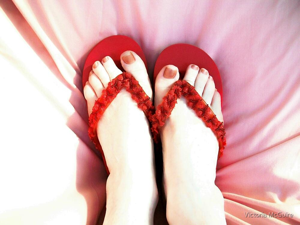 Frivolous Feet by Victoria McGuire
