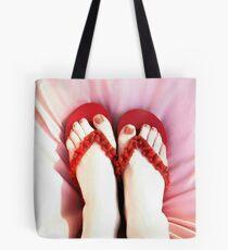Frivolous Feet Tote Bag