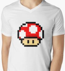 Red Mario Mushroom T-Shirt