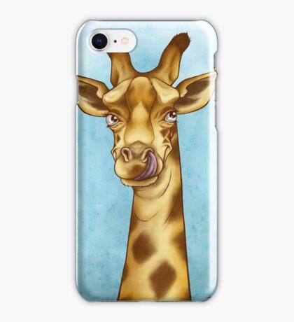 Silly Giraffe iPhone Case/Skin