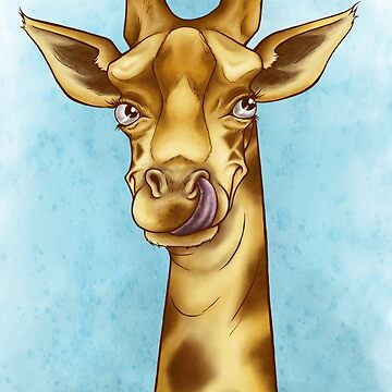 Silly Giraffe by Eenuh