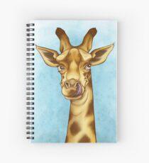 Silly Giraffe Spiral Notebook