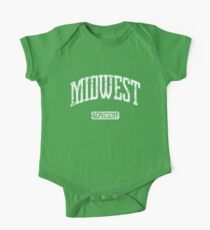 Midwest Represent Short Sleeve Baby One-Piece