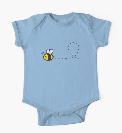 Cute Bee Top Kids Clothes