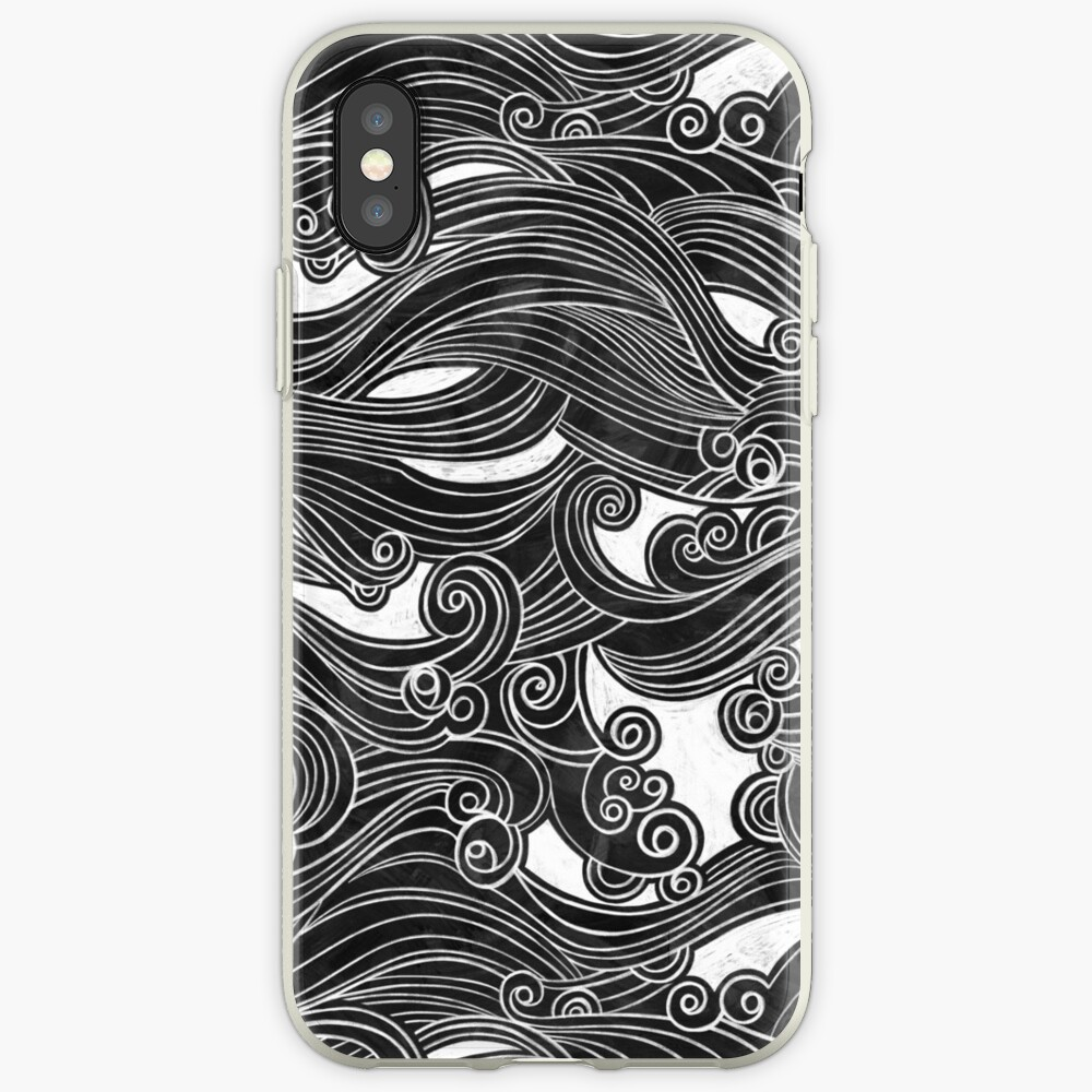 Black Wave iPhone Case & Cover