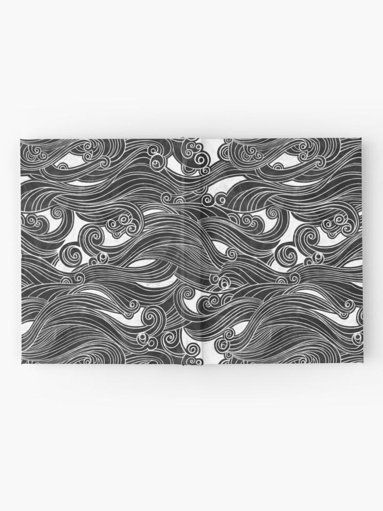 Alternate view of Black Wave Hardcover Journal