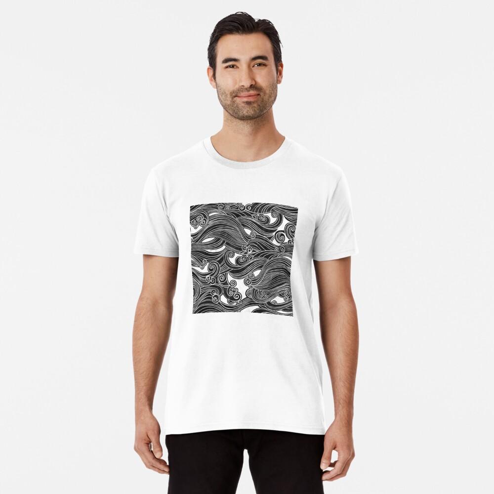 Black Wave Premium T-Shirt