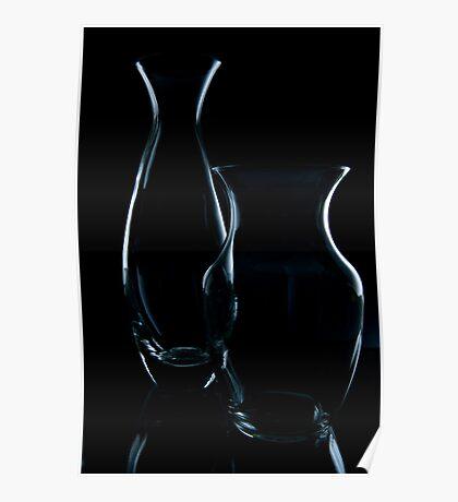 Glassy Silhouette 2 Poster
