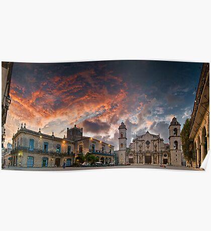 La Cathedral, Havana, Cuba Poster