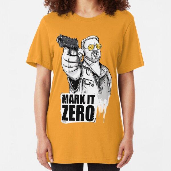 Walter, the big lebowski Slim Fit T-Shirt