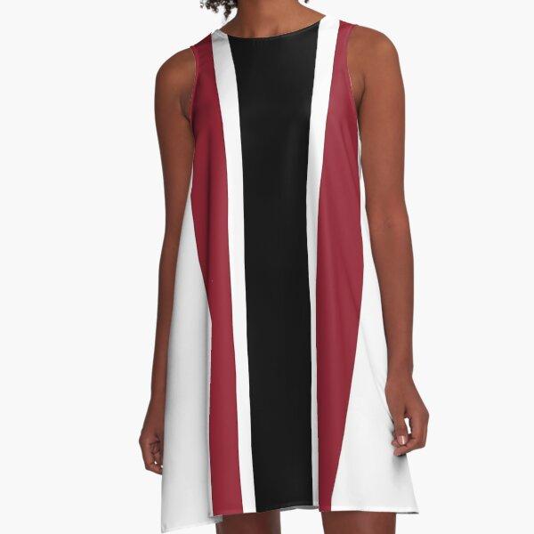 Gamecock Stripe A-Line Dress