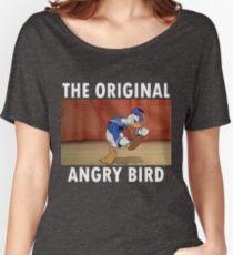 The Original Angry Bird (Donald Duck) Women's Relaxed Fit T-Shirt