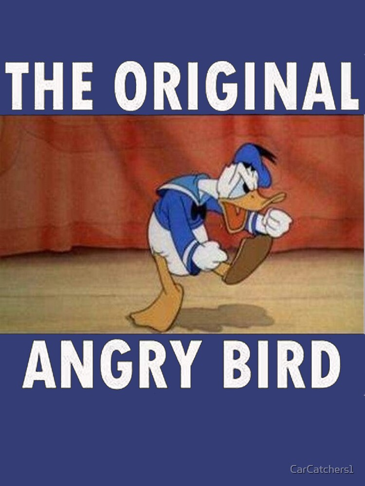 The Original Angry Bird (Donald Duck) | Unisex T-Shirt