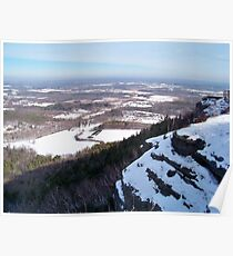 Winter in the Catskills Poster