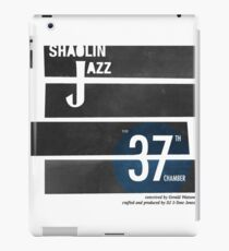 SHAOLIN JAZZ - Bones iPad Case/Skin