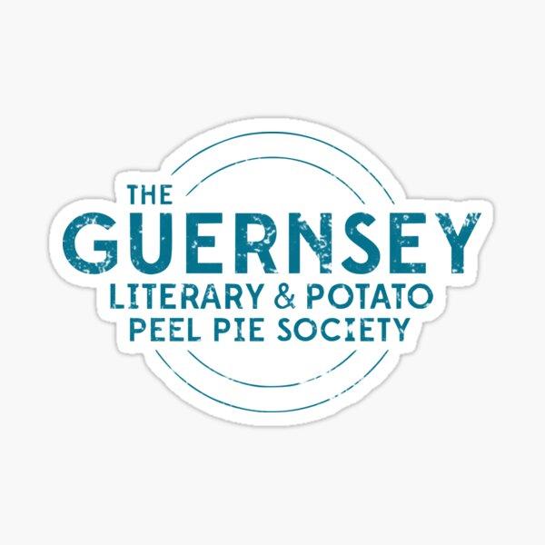 the guernsey literary and potato peel pie society Sticker