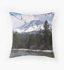Lassen Peak Throw Pillow