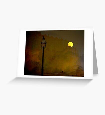 Moon Walker Greeting Card