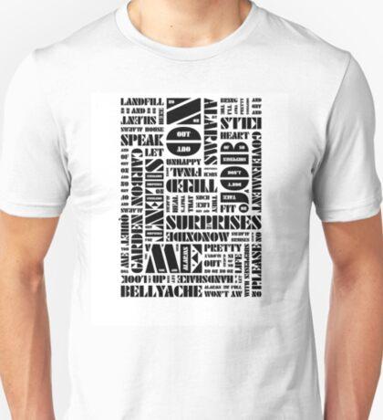 Writer's Block • No Surprises T-Shirt