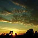 Sunrise scenery by Antanas
