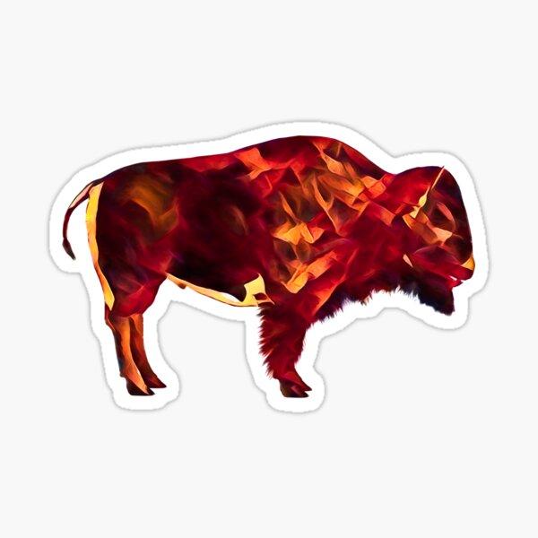 Fire Buffalo Sticker