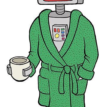 Bathrobot by bgilbert