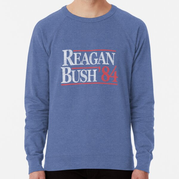 Vintage Reagan Bush 1984 T-Shirt Lightweight Sweatshirt