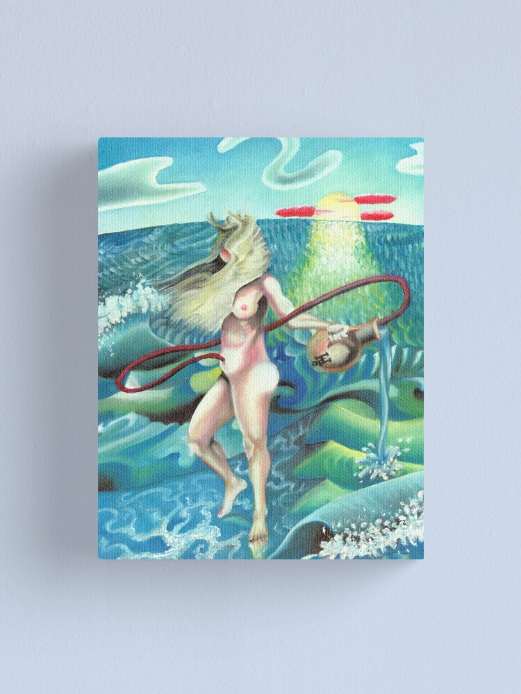 Alternate view of Birth of Aphrodite Canvas Print