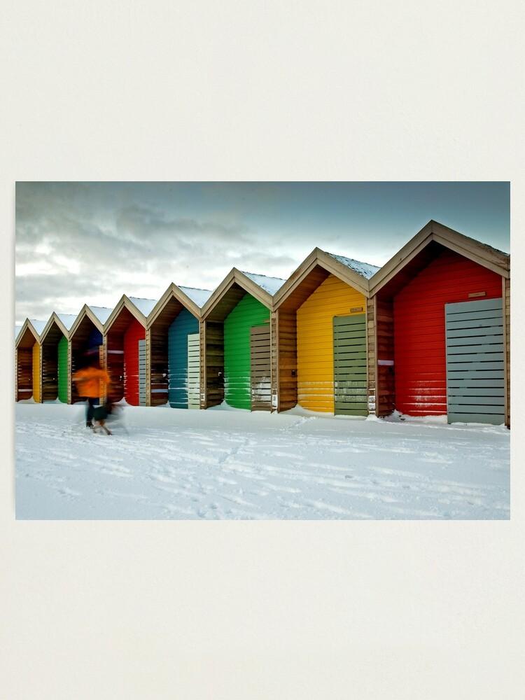 Alternate view of Beach huts Photographic Print