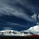 Red Rock Snow, Panoramic No. 5 by Benjamin Padgett