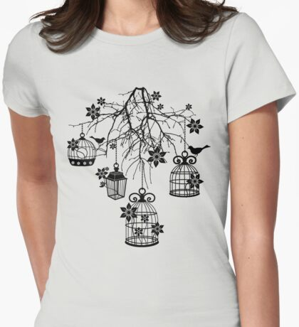 Bird Cage Chandelier T-Shirt
