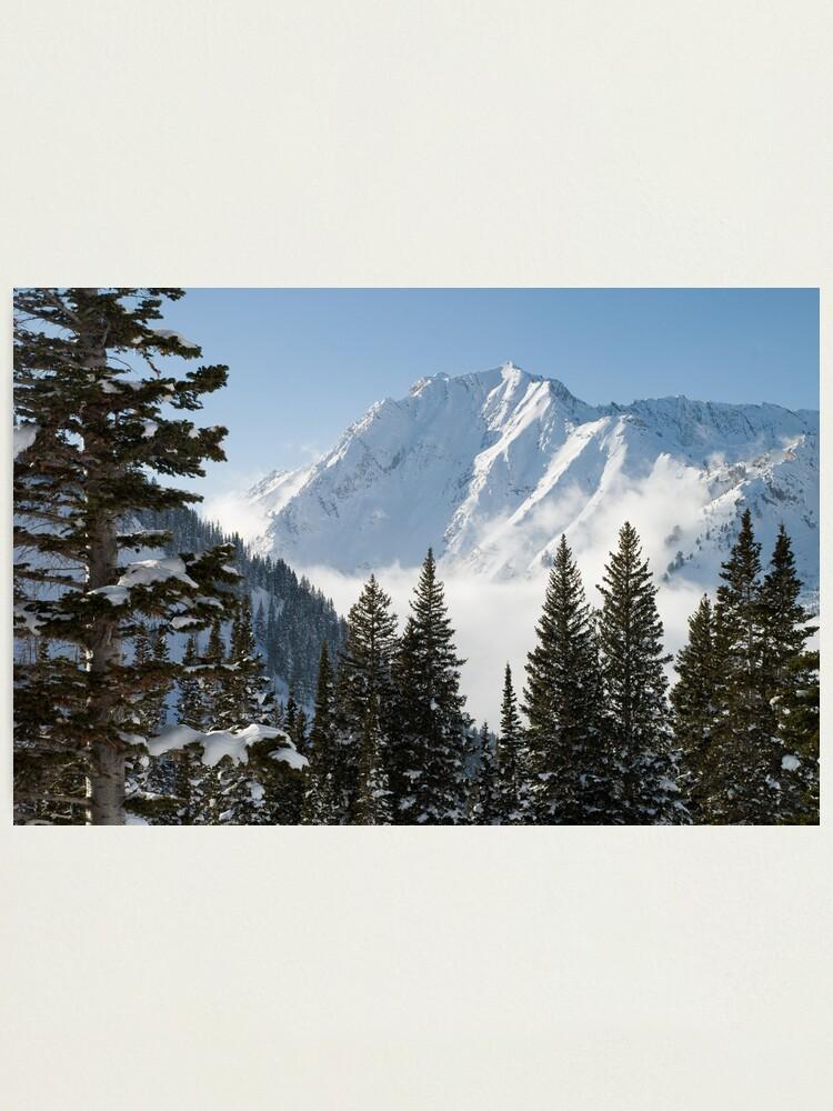 Alternate view of Mt. Superior Photographic Print